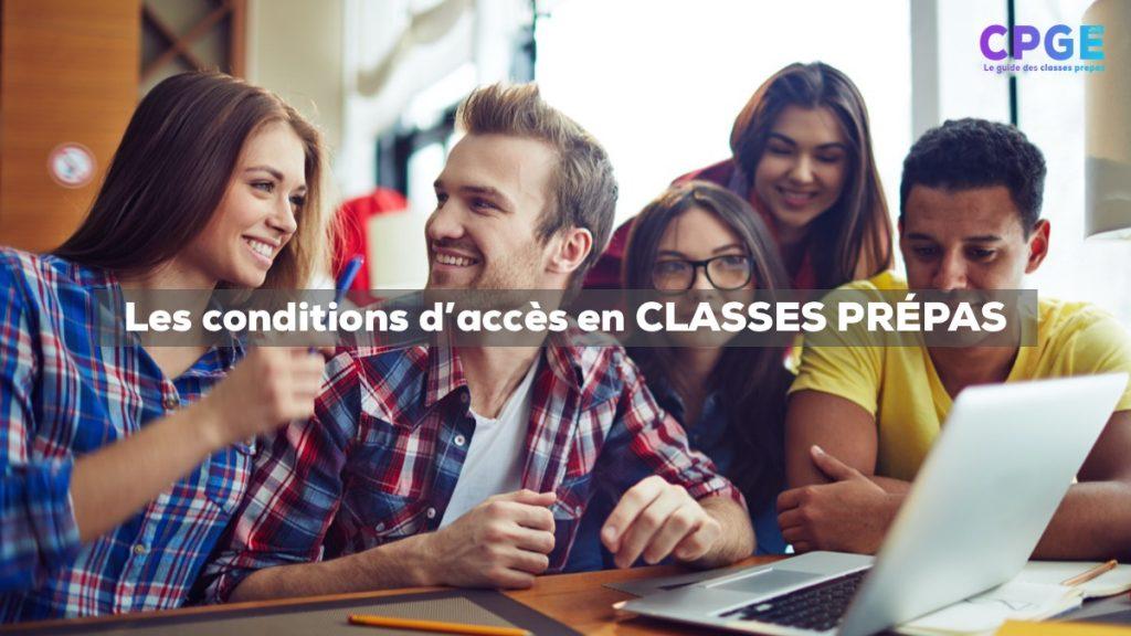 Quelles sont les conditions d'accès aux CPGE Marocaines (publiques) ? I CPGE.MA