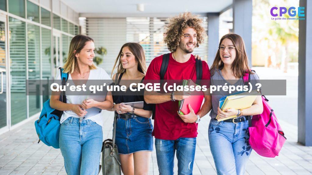 Qu'est ce qu'une CPGE (classes prépas) ? I CPGE.ma