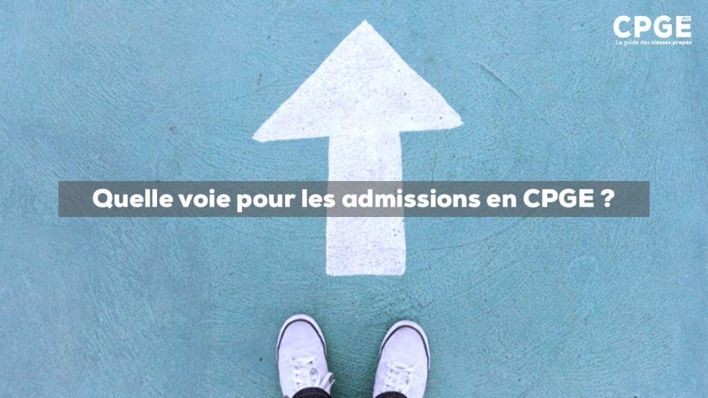 Quelle voie pour les admissions en CPGE (classes prépas) ? I CPGE.MA